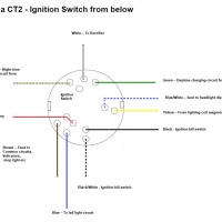72 CT2 Ignition Switch